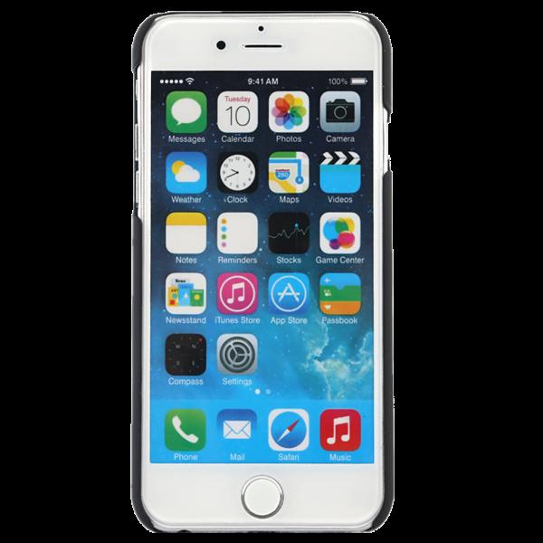 Spiegel Hoesje Zwart iPhone 7