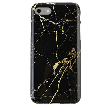 Marmer Hoesje Black&Gold iPhone 6 / 6s