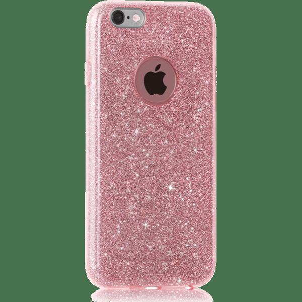 Glitter Hoesje Roze iPhone 6 Plus / 6s Plus