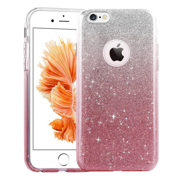 Glitter Hoesje Roze iPhone 6 Plus / 6s Plus